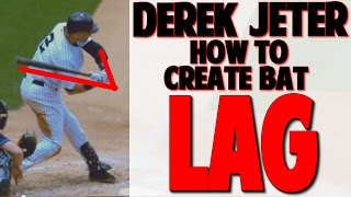 Derek Jeter | How To Get Lag & Stay Inside The Ball (Pro Speed Baseball)