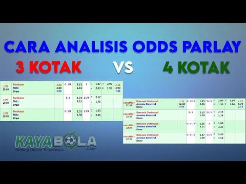 Analisis Odds Mix Parlay Pada Pasaran Bola   Cara Prediksi Parlay