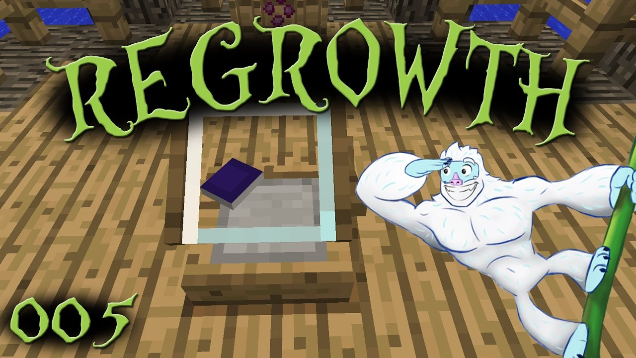 Seed Analyzer! - Regrowth Let's Play - Episode 005 - Modded Minecraft 1 7 10