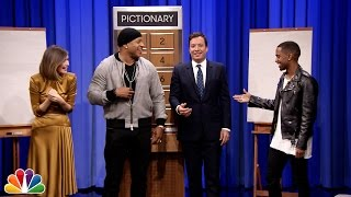 Pictionary with LL Cool J, Rose Byrne and Big Sean