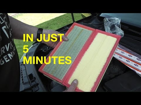 Replacing an Audi A3 Air Filter in just 5 minutes
