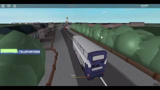 Busse UK LHD | Routen 1/2 (First P&R) [ROBLOX]
