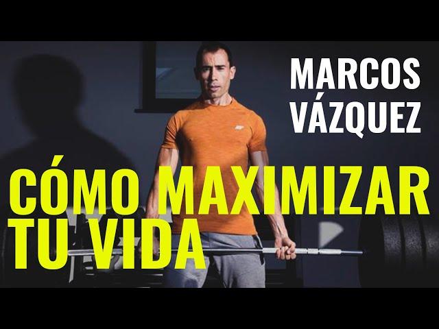 MARCOS VÁZQUEZ (FITNESS REVOLUCIONARIO) - CÓMO ELEVAR TU RENDIMENTO Y MAXIMIZAR TU VIDA