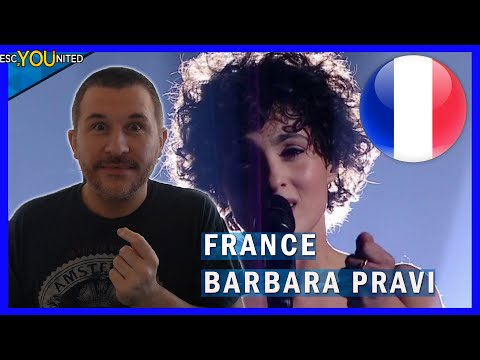 France Eurovision 2021:  Barbara Pravi - Voilà (REACTION)