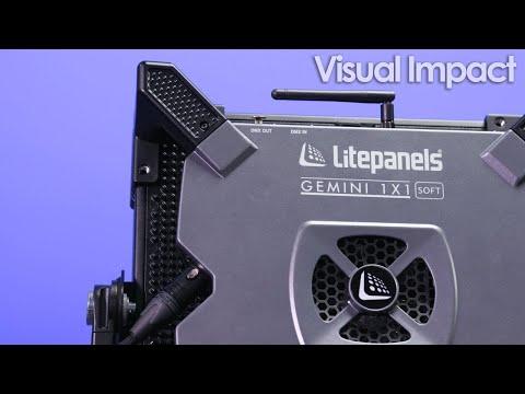 Litepanels GEMINI 1x1 RGBWW Soft Panel First Look