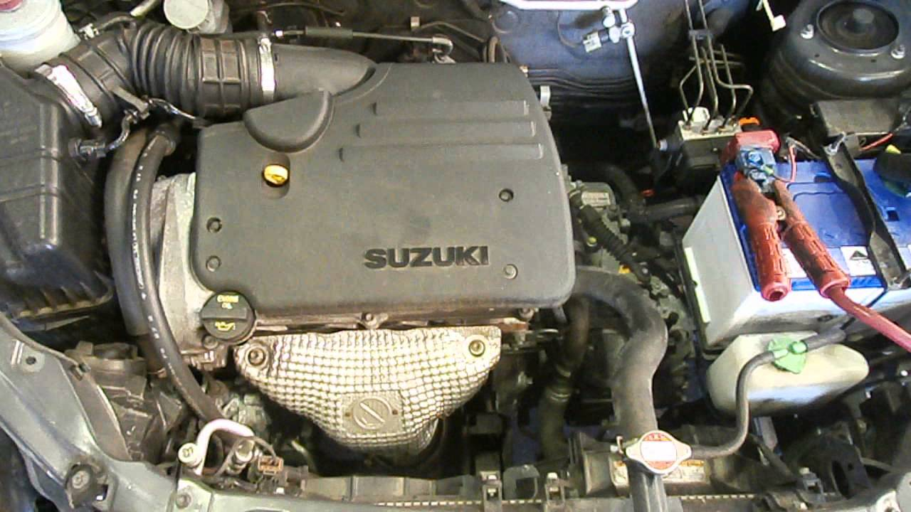 WRECKING 2006 SUZUKI LIANA, 1.8, M18A (J13473) - YouTube