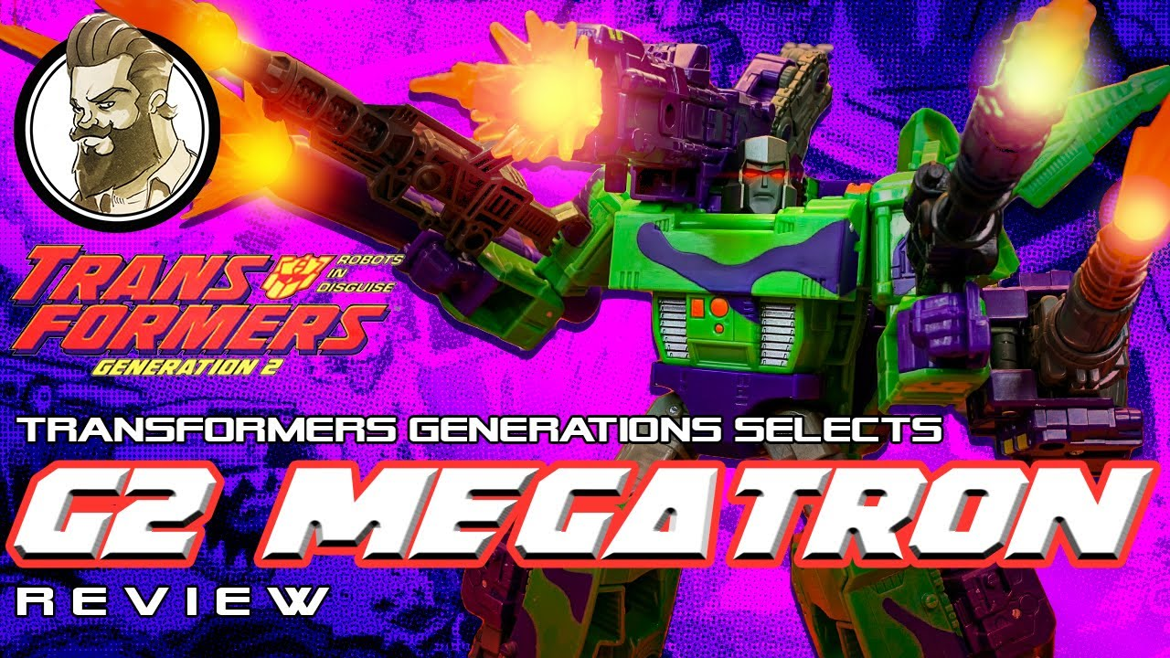 G2 Megatron - An in Your Face Serve of 90s Attitude by Ham Man