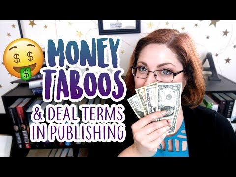 Money Taboos in Publishing & Deal Terms to Know [MONEY MONTH]