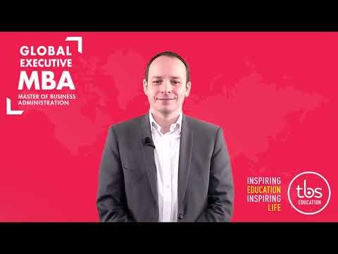 TBS - Laurent BESSON, Directeur Académique, nous présente le programme MBA de TBS.