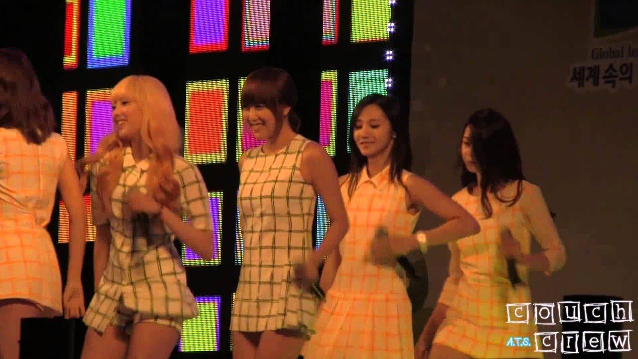 130905 헬로비너스 유아라 Hello Venus Yoo Ara - Do You Want Some Tea? @ 포천 민관군 한마음 콘서트 Pocheon Unison Concert