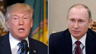President Trump and Vladimir Putin, From YouTubeVideos