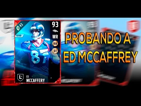 Probando a Ed McCaffrey... mas o menos | Madden 17 Ultimate Team Gameplay