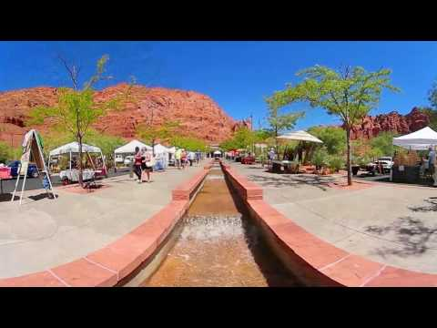 Typical St. George, Utah Summer Day - 360 Degree Video Samsung Gear 360