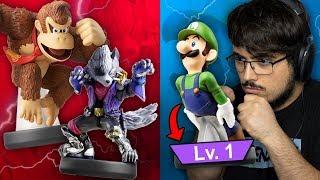 Can I Win The Amiibo Tag Tournament With Lvl 1 Luigi