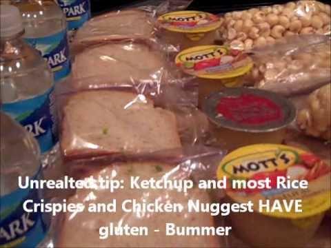 5 Gluten Free Casein Free School Lunch Ideas Episode 24