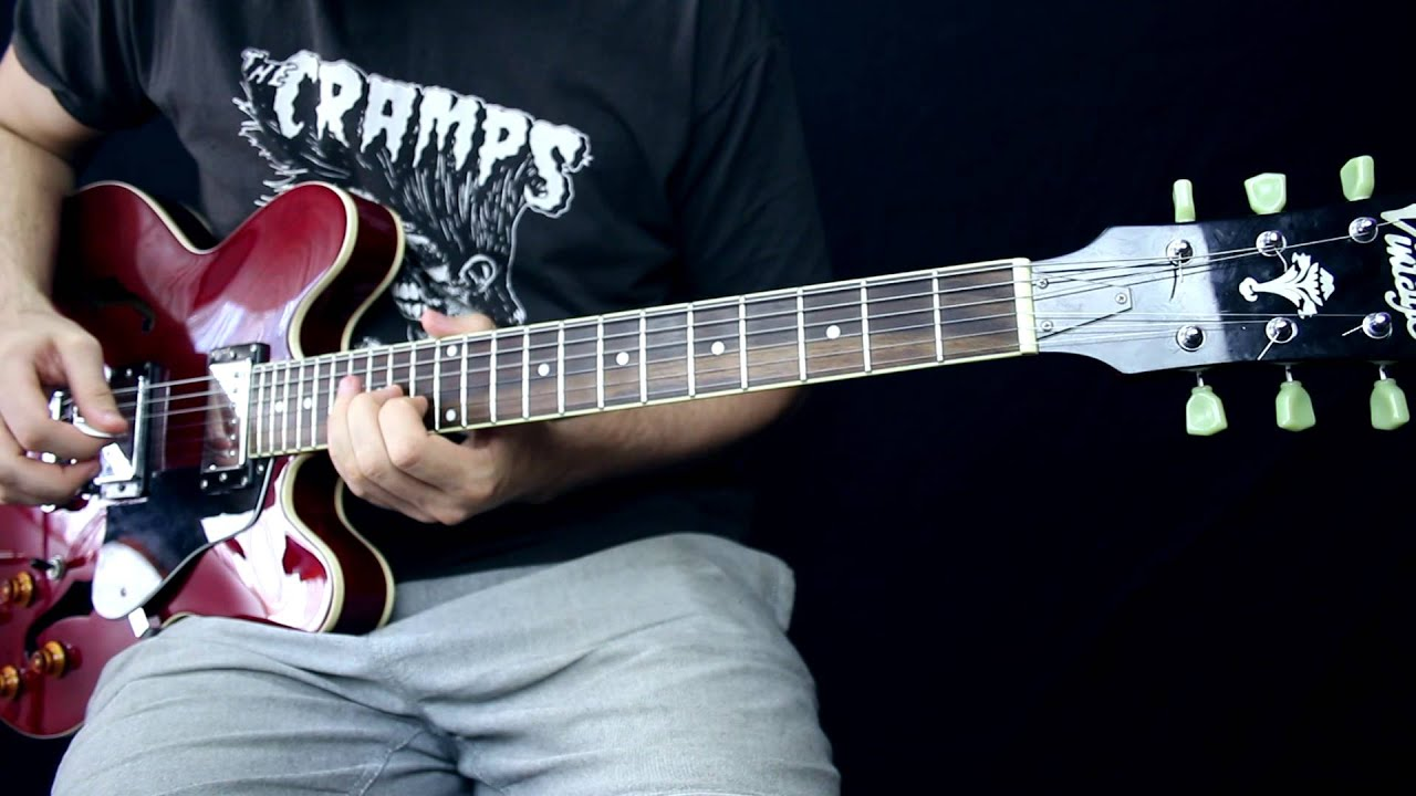 vintage vsa535 gibson es335 copy demo youtube