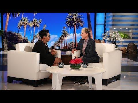 Ellen Surprises Assistant Principal Ranesa Shipman