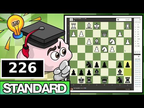 Standard Chess #226: Molson123Abc vs. IM Bartholomew (Hedgehog Defense)