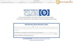 How to split your Bitcoin Cash in 5 minutes