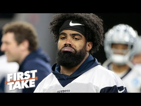 It's laughable to think Ezekiel Elliott has more leverage than the Cowboys – Stephen A. | First Take