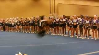 Video This girl is like a cheerleading ninja! Is this even possible?! download MP3, 3GP, MP4, WEBM, AVI, FLV Juni 2017