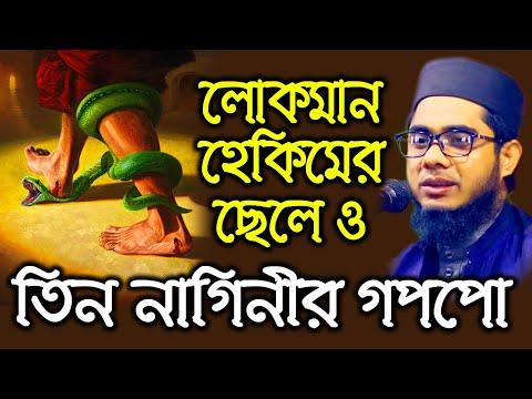 mufti mawlana shahidur rahman mahmudabadi bangla waz |  লোকমান হেকিমের ছেলে ও তিন নাগিনীর গপপো