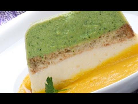 Receta de pastel de brócoli y coliflor con crema de zanahoria - Karlos Arguiñano