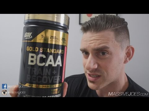 Optimum Nutrition Gold Standard BCAA Supplement Review - MassiveJoes.com RAW Review ON GS