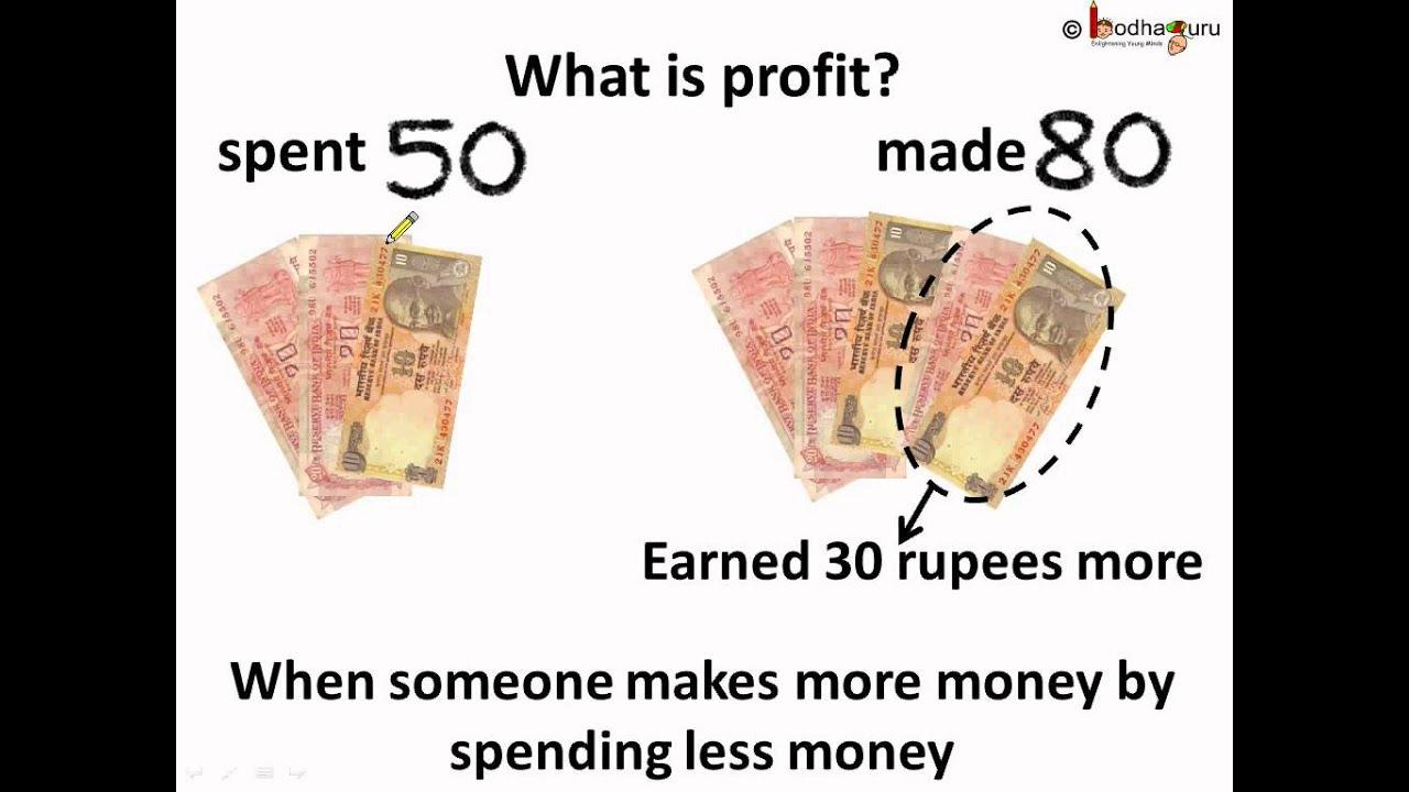 maths - profit and loss - hindi