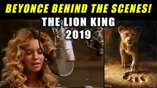 RARE LOOK at BEYONCE Behind the Scenes!! The Lion King 2019 official trailer - reaction Video