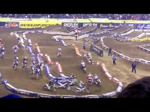 2010 Indy Supercross - 450 class - Lucas Oil Stadium