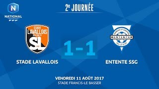 Stade Lavallois vs Entente SSG full match