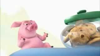 Смешная свинья (смешной мультфильм)(, 2012-08-08T08:38:43.000Z)