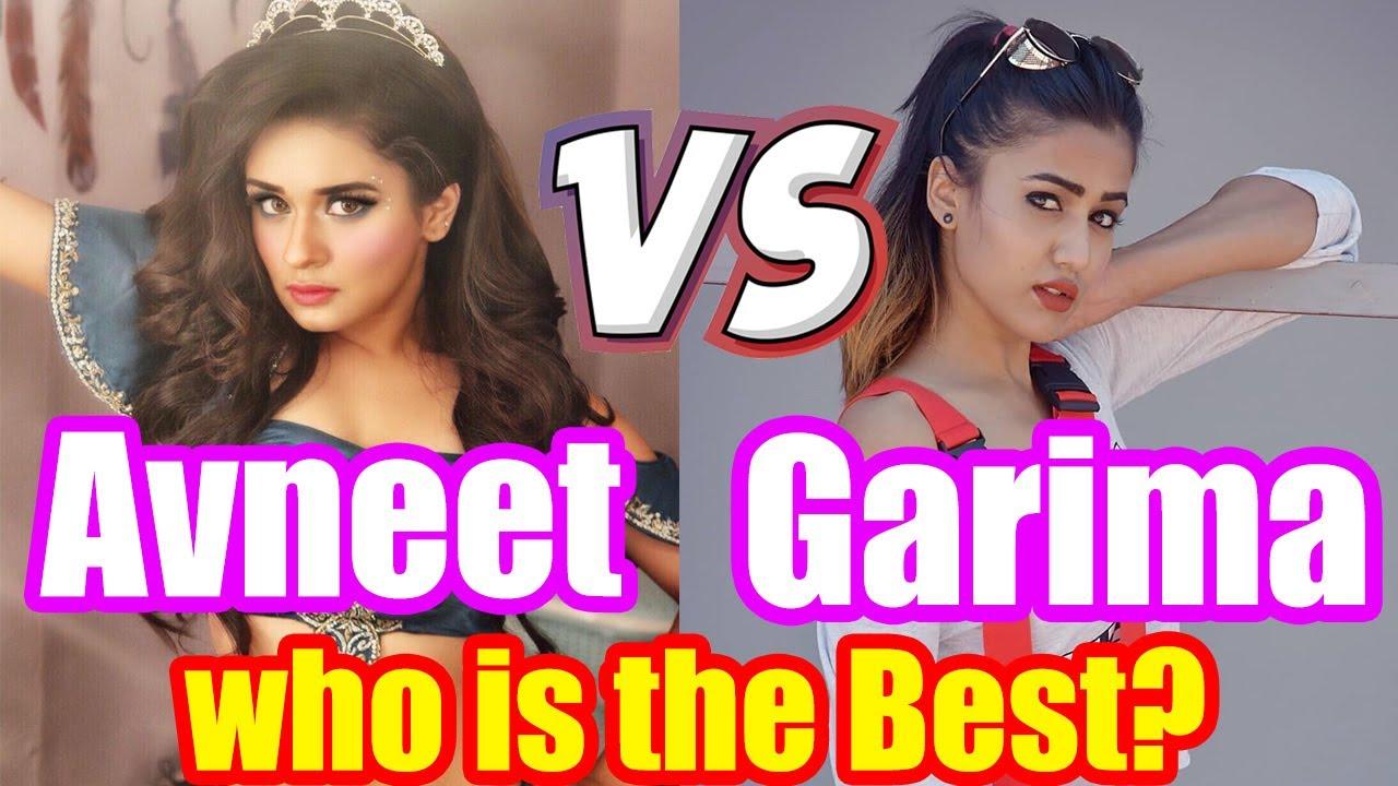 Avneet VS Garima | Avneet Kaur VS Garima Chaurasia | Who is the Best?