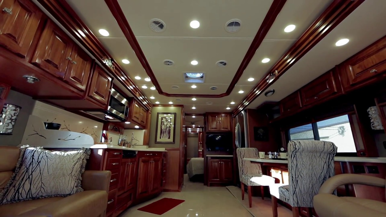 interior photo tiffin motorhomes a closer look interior storage youtube