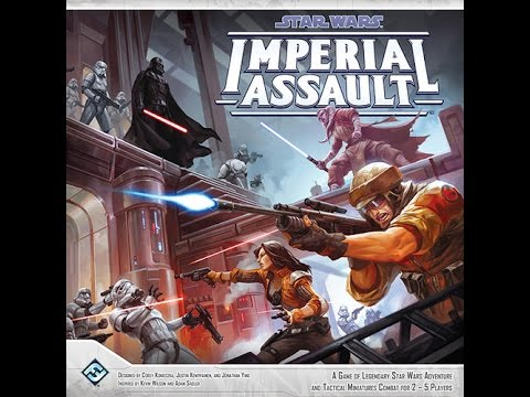 Star Wars - Imperial Assault review - Board Game Brawl