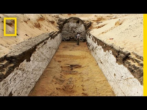 In Ancient Egypt, Even Boats Had Their Own Tombs | National Geographic