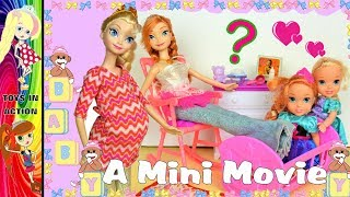 Elsia has exciting news! Movie Funny Bee Barbie Chelsea Toys Annia and Elsia Toddlers Toys and Dolls
