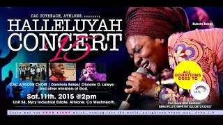Bukola Bekes at CAC Outreach Athlone (Hallelujah Concert) Part 1