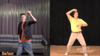 Justin Bieber Exercise Warm Up (Double Dream Hands)