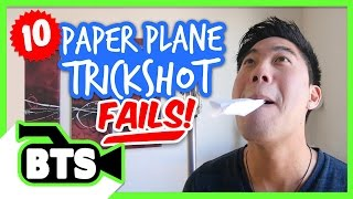 Paper Airplane Fails (BTS)