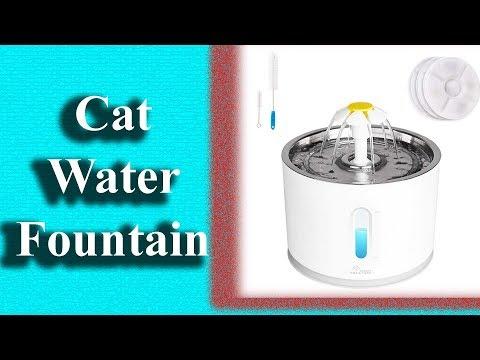 Best Cat Water Fountain | Pet Fountain Stainless Steel | Top Cat Water Dispenser