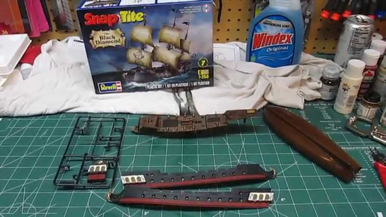 how to build vacuform model kits
