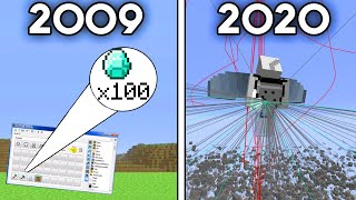 Minecraft's Evolution of Hacks