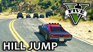 GTA V - Fast and Furious 7 Hill Jump Scene