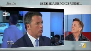 Se De Sica risponde a Renzi ...
