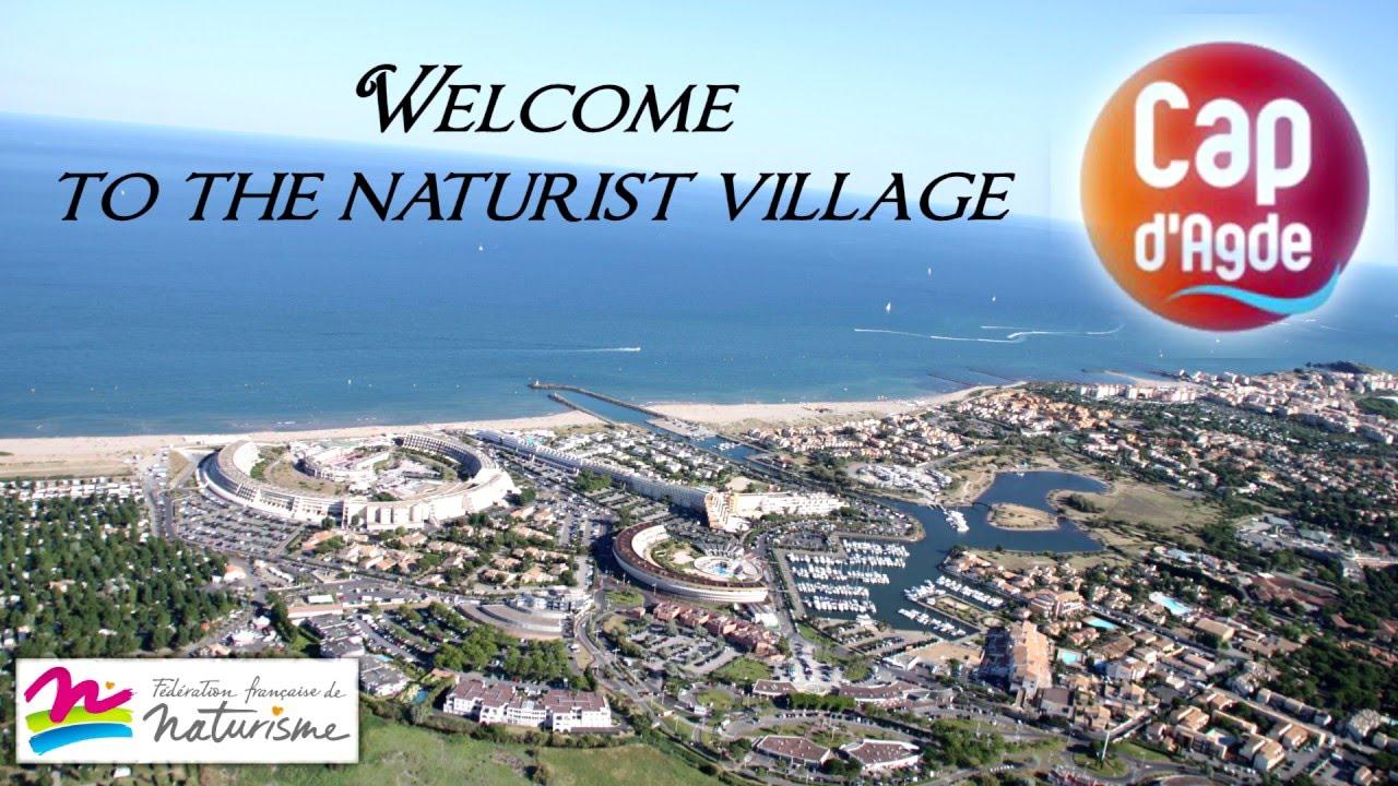 video village naturiste Cap dagde 2016 - YouTube