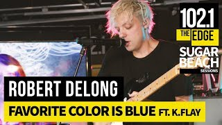 Robert DeLong visits the Edge studios for a #SugarBeachSession and ...