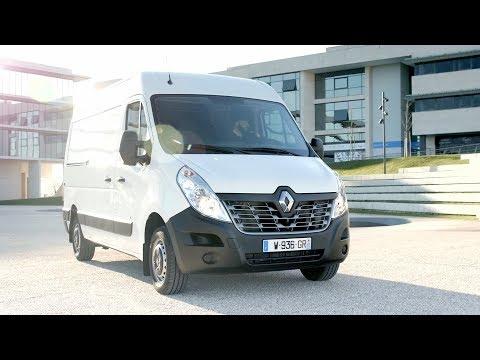 2018 Renault Master Z.E. electric van - Driving, Interior & Exterior