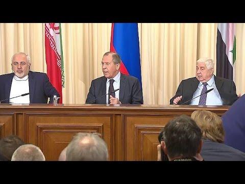 Russland, Iran und Syrien beraten über Bürgerkrieg in Syrien - world
